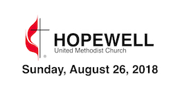 August 26, 2018 – Hopewell, Why?