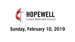 February 10, 2019 – 5th Sunday After Epiphany