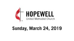 March 24, 2019 – Celebrating 150th Anniversary of the United Methodist Women