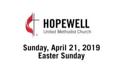 April 21, 2019 – Easter Sunday