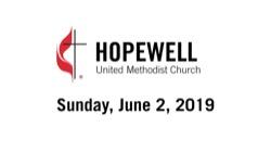 June 02, 2019 – Communion